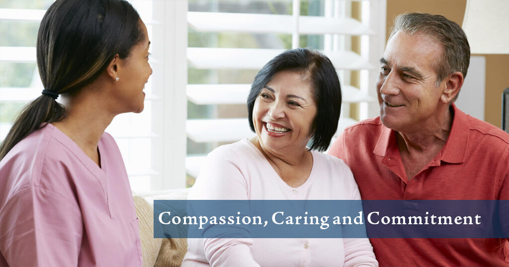 Compassion, Caring and Commitment